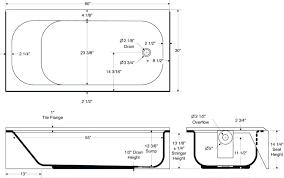 bathtub drain pipe size bathtub drain size standard bathtub drain pipe size