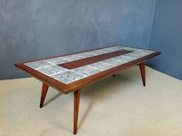 home slate tile coffee table set top settile tables and end blue