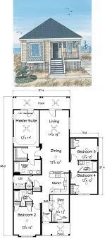 coastal cottage house plans. Bedroom Beach House Plan Amazing Cottage Floor Plans Best Ideas On Vacation Pint Coastal
