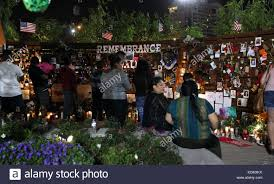 the scene in las vegas nevada as volunteers build a healing garden one week after stephen paddock fired into concertgoers at a country festival held