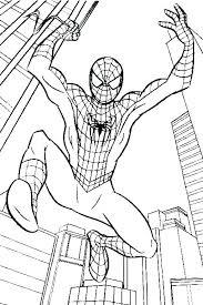 Spiderman Coloring Images Wanderlive Co