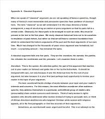8 Argumentative Essay Examples Free Premium Templates