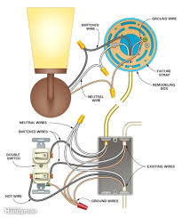 wiring s to add a new light fixture do it yourself help arresting light switch