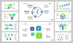 Slide Desigh Business Presentation Slide Design Set Vector Free Download