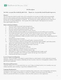 Accounts Payable Manager Resume Enchanting 44 Accounts Receivable Resume New Template Best Resume Templates