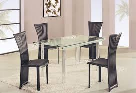 Best High Class Rectangular Glass Top Dining Furniture Set Modern Round Glass  Dining U2026 Part 3