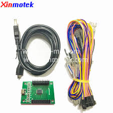 Xinmotek XM 10 DIY <b>2 Players</b> USB To Jamma <b>Arcade Controller</b> ...