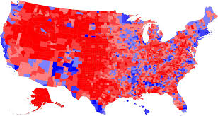 presidential elecion results county by county results 2000 u s presidential election