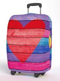 <b>Чехол</b> для чемодана, Размер M 65*70 см, серия <b>Neoprene Happy</b> ...