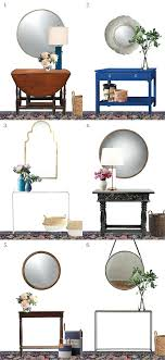 hall console table with mirror. 6 Entryway Console Tables And Mirrorsentryway Foyer Table Mirror Hall With