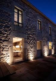 modern exterior lighting. gallery of stone respect dom arquitectura 10 modern exterior lighting