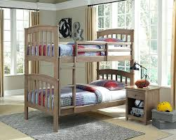 grey bunk beds wooden uk with trundle