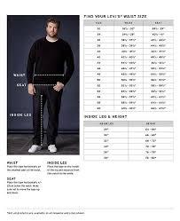 Levi 501 Jeans Size Chart Levis Pants Size Chart Pants Images And Photos
