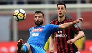 Resultado de imagen de Milán  0-0  Nápoles