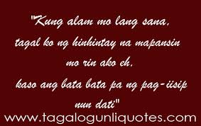 Sweet Tagalog Quotes for him/her | Love Quotes Tagalog via Relatably.com