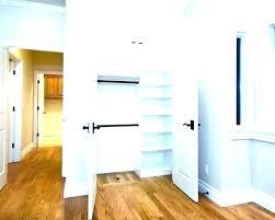 closet door solutions narrow closet ideas doors bedroom small linen shelving door narrow closet doors wide closet door solutions