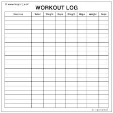 Workout Log Book Template Excel Mythologen Info