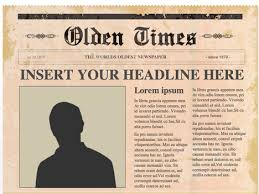 Newspaper Template For Google Docs Editable Powerpoint Newspapers Template Old Newspaper Template