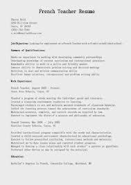 english teacher resume 5 - English Resume Template