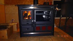 wood cook stove firebox