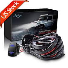 mic tuning inc off road,led lights ,auto accessories,online shopping mictuning light bar review mictuning led light bar wiring harness on off laser rocker switch us shipping \u003cwholesale