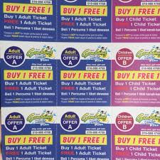 Free Tiket Kupon Gambang Waterpark Buy 1 Free 1 Tickets Vouchers