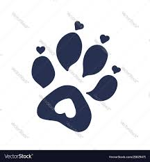 Cat Paw Design Cat Or Dog Paw Print Tattoo Design