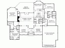 brilliant 2500 sq ft house plans one level 4 bedroom first floor plan of