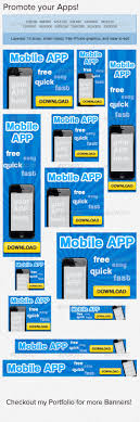 mobile app banner ad its you mobile app and affiliate marketing mobile app banner ad template psd buy and graphicriver