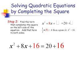 solving quadratic equations using the formula calculator