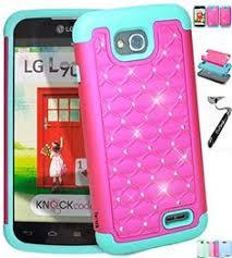 lg optimus l90 phone cases. [ lg optimus l90 / d405 ] toperk (tm) luxury spot diamond dual layer lg phone cases g