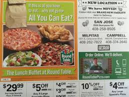 round table pizza location moved ad
