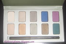 in the garden eyeshadow swatches top row