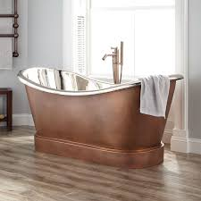 second hand copper bath for problems with bathtubs slide11 round soaking tub clawfoot faucet whitehaus