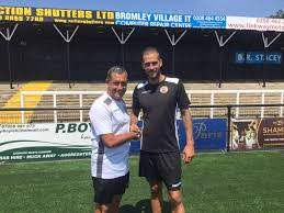 Roger Johnson signs up   Bromley Football Club