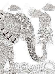 Mandala elefant gekritzelart elephant doodle style free. Malvorlage Erwachsene Elefant Coloring And Malvorlagan