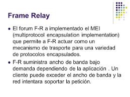 frame relay m i maria luisa gonzález ppt descargar