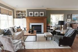 The Spruce Cozy Gray Living Room