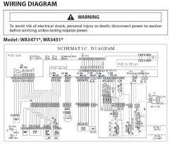 samsung top load washer model wa5471 wa5451 troubleshooting Washing Machine Door Lock Wiring Diagram samsung wring diagram schematic wa5471 wa5451 Kenmore Washing Machine Wiring Diagram