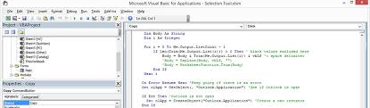 Vba Developer Development Grand Rapids Michigan Visual Basic For
