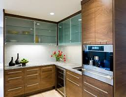 Exellent Modern Kitchen Cabinet Doors In Gallery Frosted Glass Cabinets Leave A Bit Concept Design