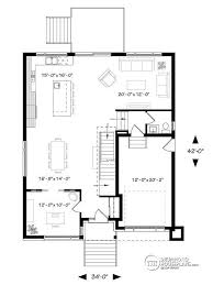 Small Picture House plan W3884 detail from DrummondHousePlanscom