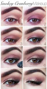 pink smokey eye makeup tutorial pinit