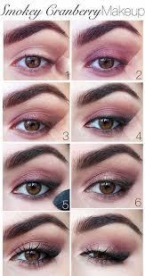 pink smokey eye makeup tutorial