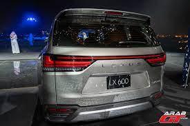 سيارة لكزس LX 600 2022 الجديدة تنطلق عالمياً من الرياض