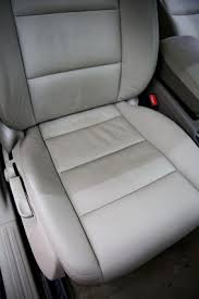 cleaned leather leather ultra clean this photo shows a car interior