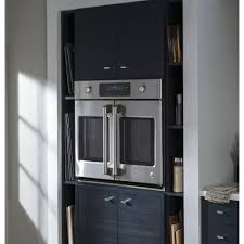 GE 30 in. Single Electric Smart French-Door Wall Oven Self-Cleaning ...