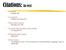 Mla Style 8th Edition Mla Modern Language Association Ppt Download