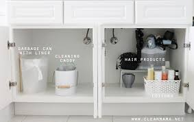 4 tips to organize under the bathroom sink via clean mama 1 just a simple home