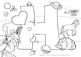 Preschool Alphabet Coloring Pages Preschool Alphabet Coloring Pages